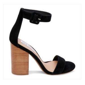 Steve Madden Frieda black heeled sandals